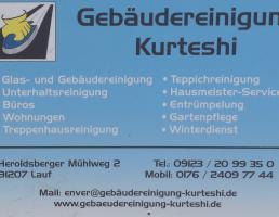 Gebäudereinigung Kurteshi in Lauf an der Pegnitz