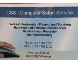 CSS - Computer Sofort Service in Lauf an der Pegnitz