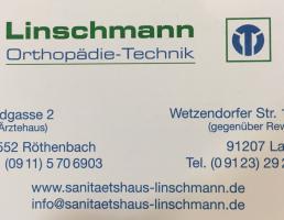 Sanitätshaus Linschmann in Lauf an der Pegnitz