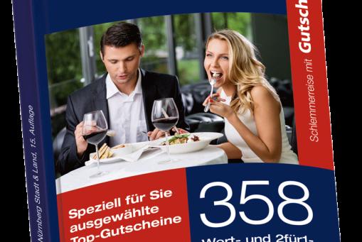 Schlemmerreise mit Gutscheinbuch.de - Nürnberg Stadt & Land