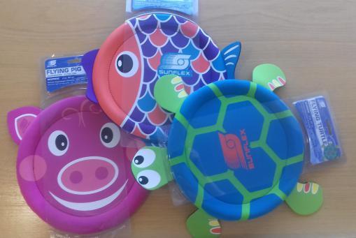 Flying Animals - Schwein/Fisch/Schildkröte