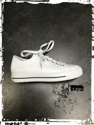 Paul Green- weißer Sneaker, mit extrasofter Ausstattung- ideal zum Barfusstragen