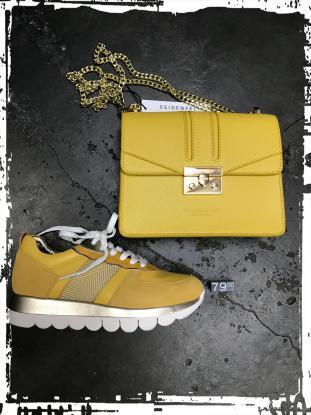 Tamaris - modischer Sneaker aus Nubukleder