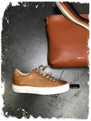 Paul Green - Edler Sneaker in cognac