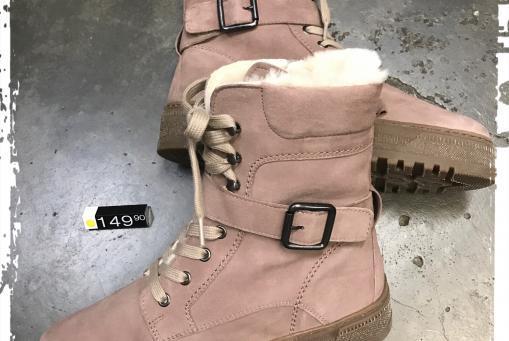 Gabor - lammfellgefütterter Stiefel mit Reißverschluss