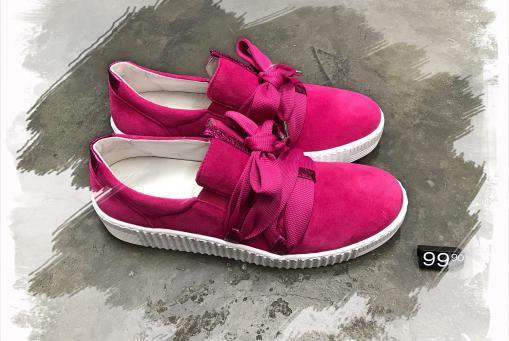 Gabor- knalliger Sneaker für Modemutige