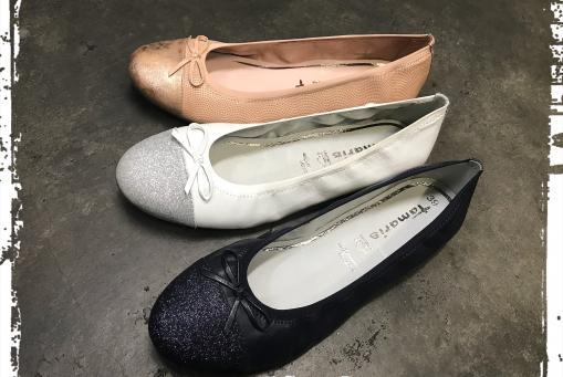 Tamaris - leichte, preiswerte Lederballerinas