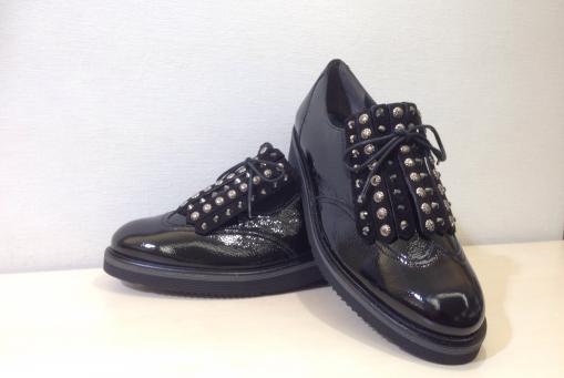Paul Green- Knautschlack , schwarz..... mit federleichter Laufsohle