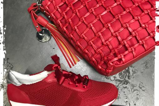 Ara- leichter , zierlicher Textilsneaker aus pflegeleichtem Textilmaterial