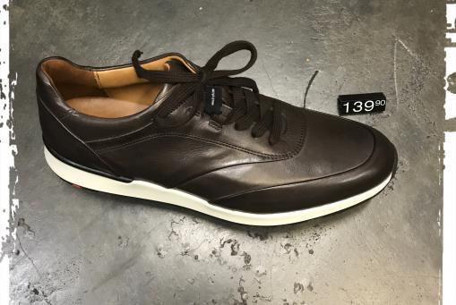 Lloyd - edler Ledersneaker .... in schwarz und dunkelbraun erhältlich