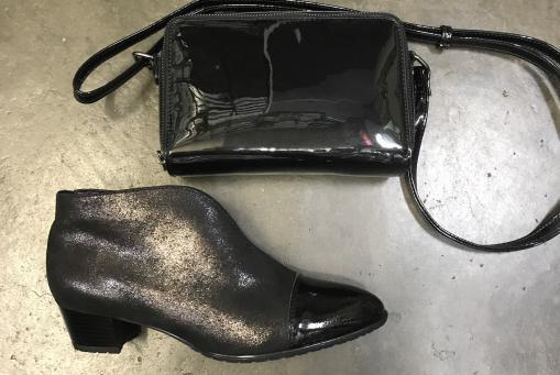 Ara - elegante Stiefelette , schwarz