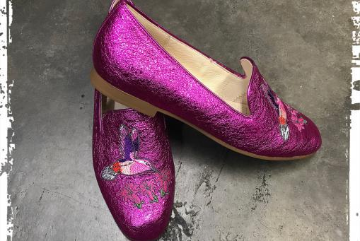 Gabor - topmodischer Slipper in pink