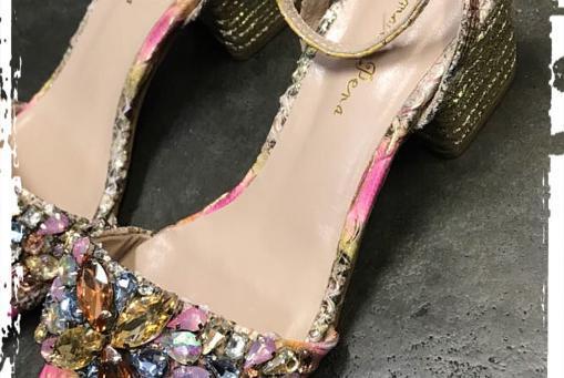Alma en Peña- eine wahrhaft funkelnde Sandalette