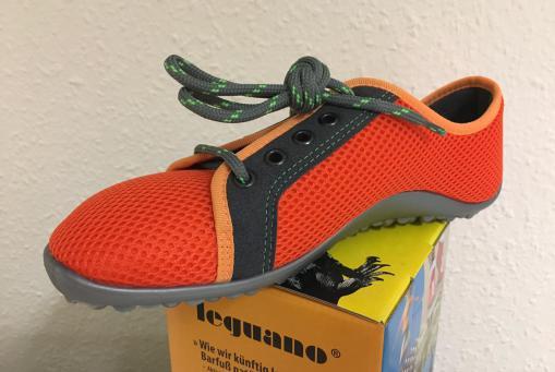 NEU - Der leguano aktiv in orange