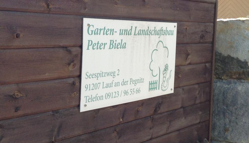 Öffnungszeiten Garten- und Landschaftsbau Biela Lauf an der Pegnitz ...