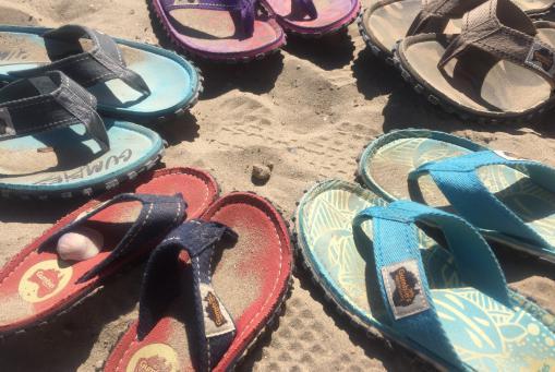 Strandsandalen, Flipflop ökologisch und vegan
