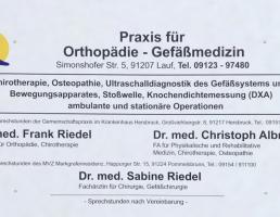 Praxis für Orthopädie in Lauf an der Pegnitz