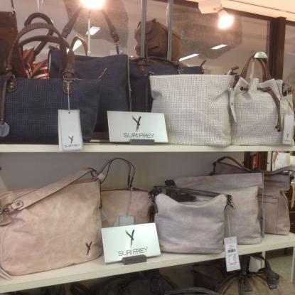 Surifrey-Modelle in Pastelltönen rosa, grau, silber. Funktionell, tolle Modelle, neue Kollektion