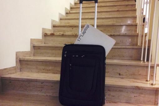 Notebooktaschen mit Rollen und Gestänge. Verschiedene Modelle und Einteilungen. Günstig im Preis