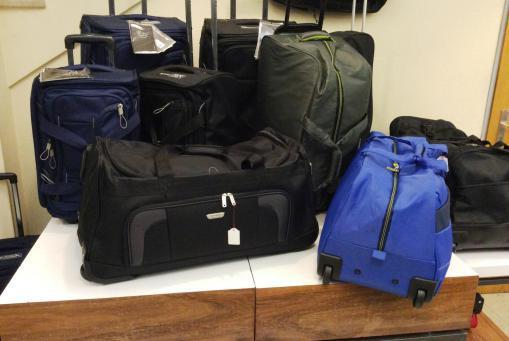 Rollenreisetaschen in allen Größen, Materialien verfügbar. Alle Preisklassen.