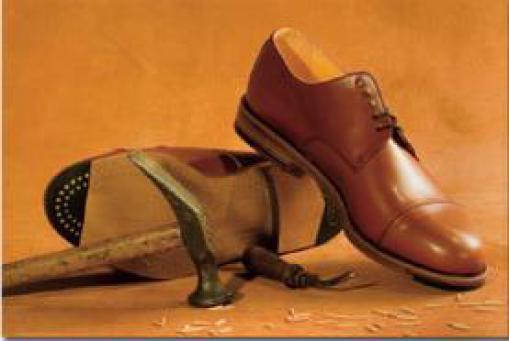 """Handmacher Schuhe: """"Von Könnern erdacht, für Kenner gemacht."""" Holzgenagelte Lederschuhe ab 299,- €"""