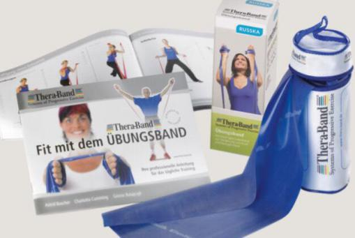 Thera-Band® »Travel« - mit Tasche und Übungsanleitung - das kleinste Fitnessstudio der Welt
