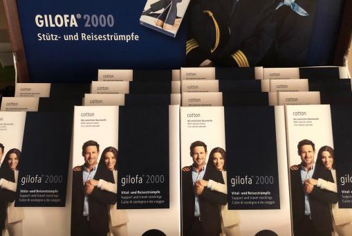 GILOFA 2000 – Stütz– und Reisestrümpfe