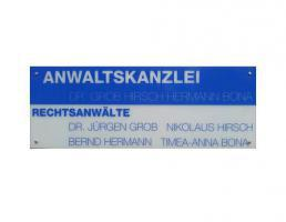 Anwaltskanzlei Dr. Grob, Hirsch, Hermann, Bona in Reutlingen