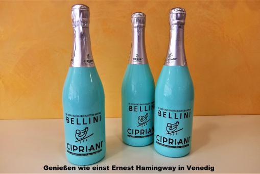 Bellini -Genießen wie einst Ernest Hammingway