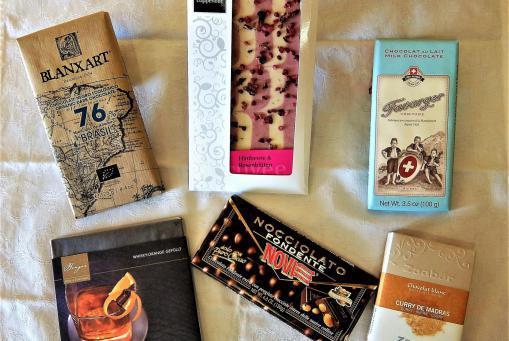 Internationales Angebot aus der Welt der Schokoladentafel
