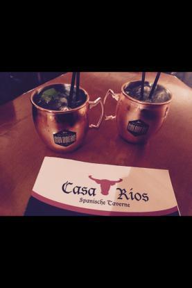 Neu im Casa Rios Moscow Mule und Intense Mule