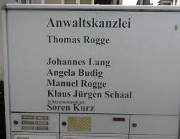 Anwaltskanzlei Rogge & Kollegen in Reutlingen