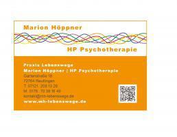 Marion Höppner Psychotherapie in Reutlingen