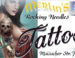 Merlins Rocking Needles Tattoo in Fürstenfeldbruck