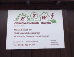 Elektro-Technik Wartha in Rückersdorf