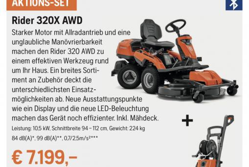 Husqvarna Rider 320X AWD