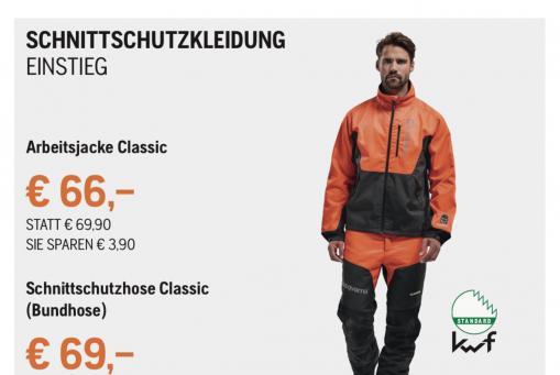 Husqvarna Schnittschutz Bundhose Classic