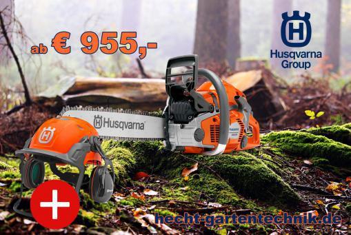 Husqvarna Motorsäge 550XP/560XP + Technical Helm GRATIS*