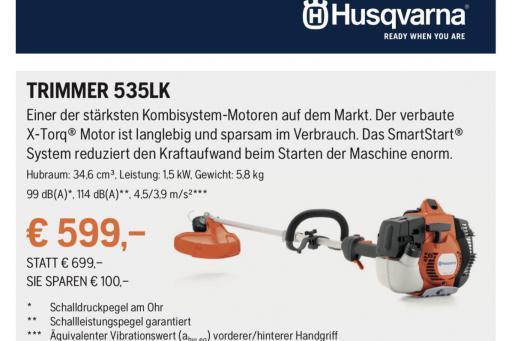 Husqvarna Trimmer 535LK