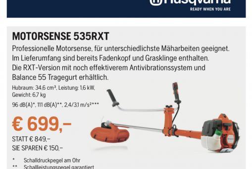 Husqvarna Motorsense 535RXT