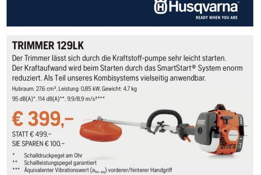 Husqvarna Trimmer 129LK