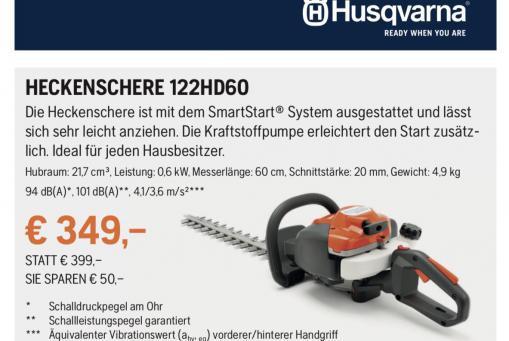 Husqvarna Heckenschere 122HD60