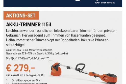 Husqvarna Akku-Trimmer 115iL