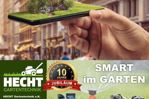 Smart im Garten