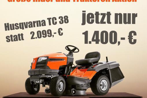 Husqvarna Rider und Traktoren Aktion