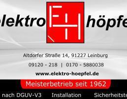 Elektro Höpfel in Leinburg
