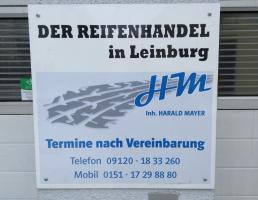 Der Reifenhandel in Leinburg