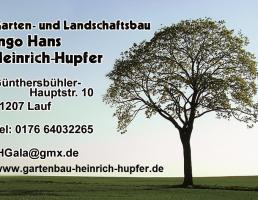 Ingo Heinrich-Hupfer Garten- und Landschaftsbau in Lauf an der Pegnitz
