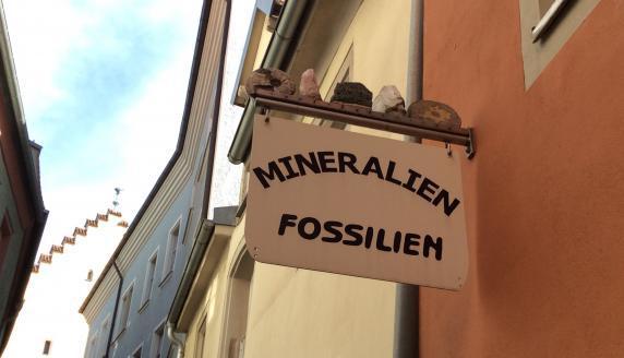 Mineralien Fossilien Aepler Reinhardt in Regensburg Impression