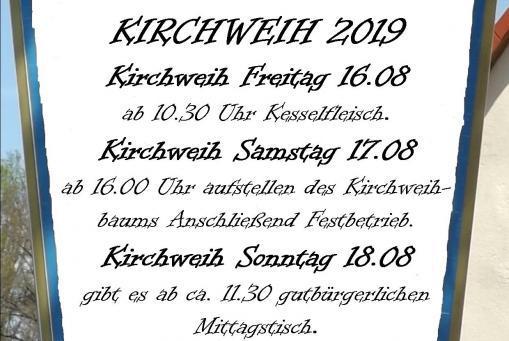 Kirchweih 2019